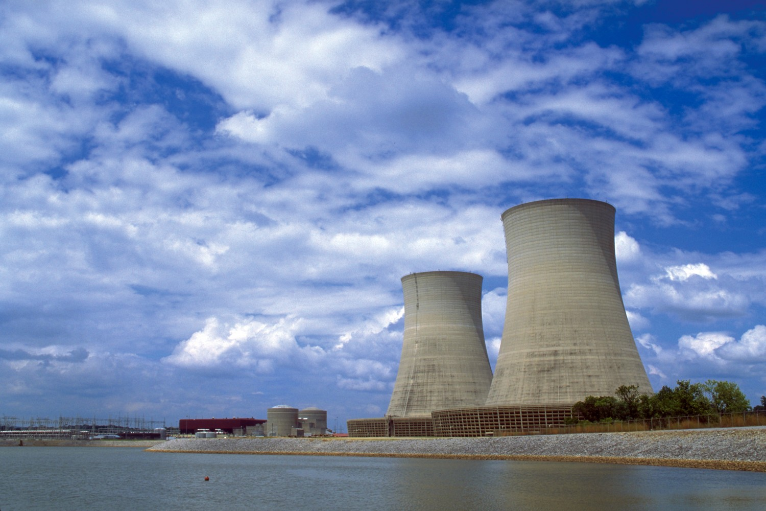 nuclear plant photo
